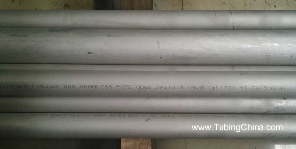 800 UNSN08800 Nickel Alloy Seamless Tubes