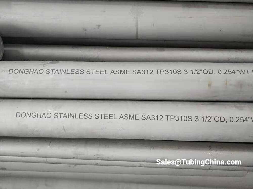 ASME SA 213 310S Stainless Steel Pipe | ASTM A213 310S Stainless