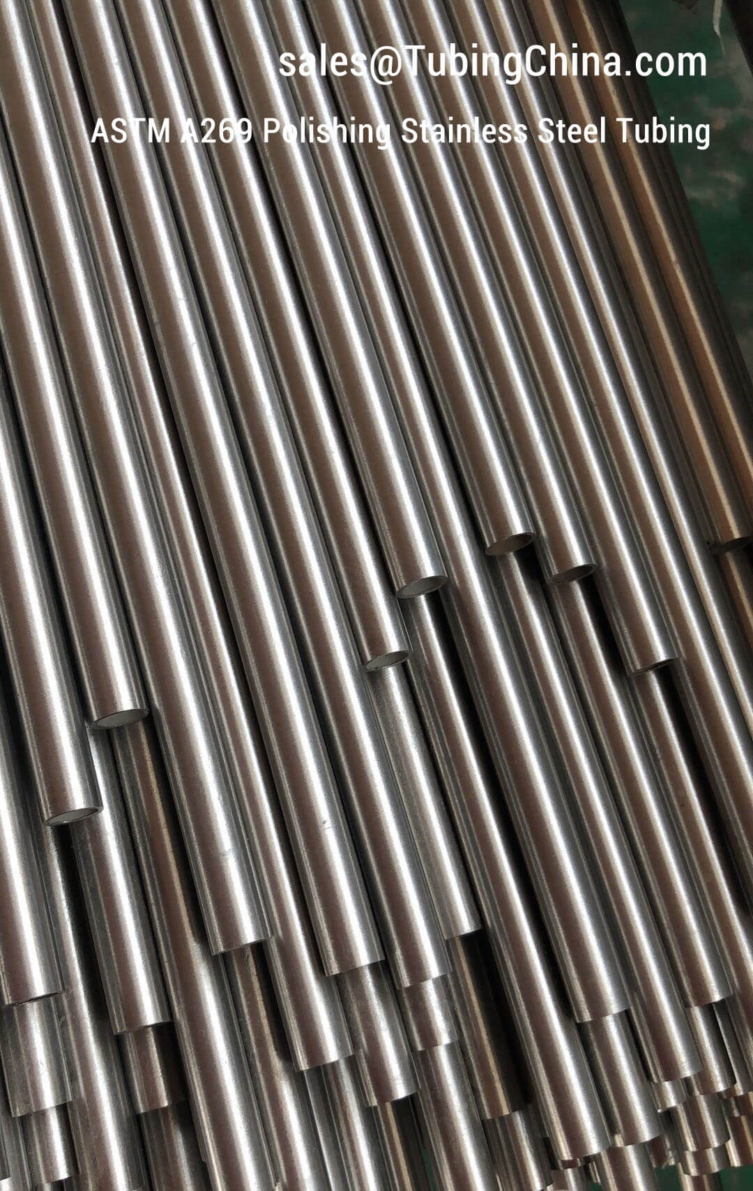 Polishing Stainless Steel Pipe - ASTM A269 ASTM A213 TP304