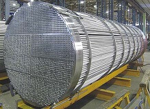 Stainless steel tubes for heat exchanger
