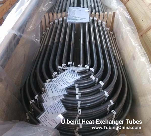 U bend stainless steel tubing for heat exchanger china
