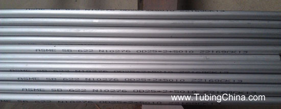 UNS N10276 C-276 2.4819 Nickel Alloy Seamless Tubing